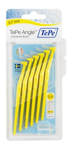 TePe Interdental Brush Angle Yellow