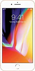 "Apple iPhone 8, Fully Unlocked 4.7"", 64 GB - Gold+a free car cell phone mounting"