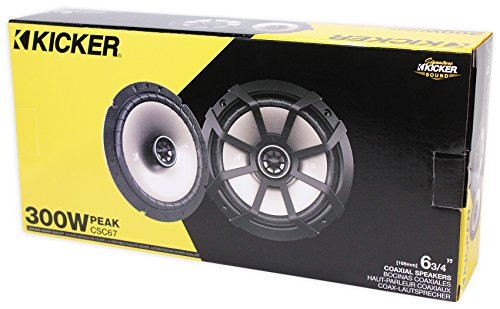 KICKER PHASE 3 Polaris RZR (4) Speakers+Subwoofer+(2) Amps+SSV Receiver+Kits