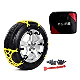OSIAS New Snow Tire Chain for Car Truck SUV Anti-Skid Emergency Winter Driving