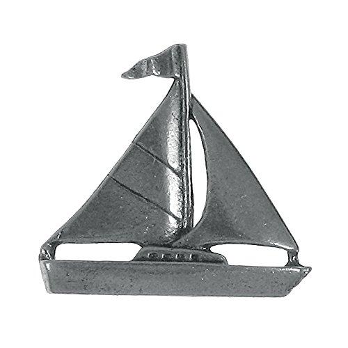 Sailboat Pewter Lapel Pin ()