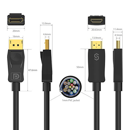 30%OFF DisplayPort to HDMI Cable 4K Resolution - Syncwire