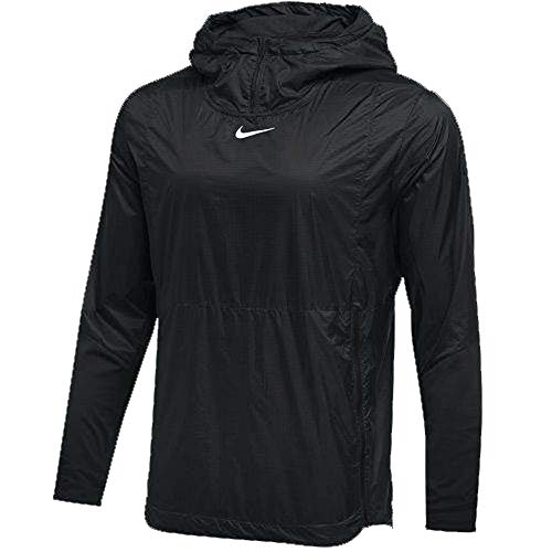 Nike Mens Authentic Collection Lightweight Fly Rush Jacket Black/White Size XXL