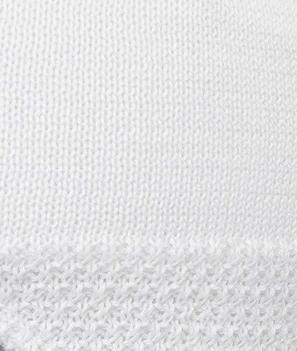 Döll Topfmütze Strick, Sombrero Unisex bebé Blanco (bright white 1000)
