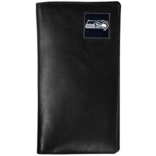 NFL Seattle Seahawks Tall Leather (Seattle Checkbook Cover)
