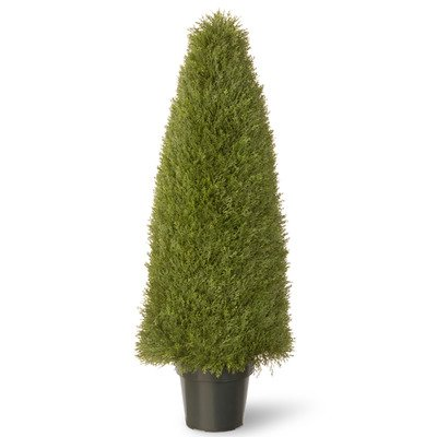 National Tree 48 Inch Upright Juniper Plant in Green Pot (LCY4-48) by National Tree Company