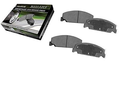 Rear Severe Duty Metallic Pads - for 1998 Chevrolet T10 Blazer & Pickup - 17077 Kit
