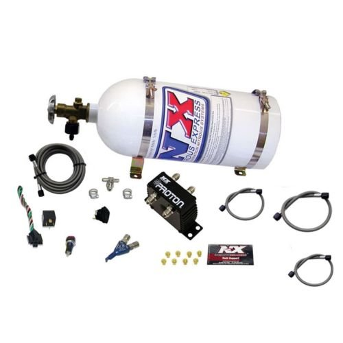 (Nitrous Express 20420-10 Proton Series Nitrous System with 10lbs. Bottle)