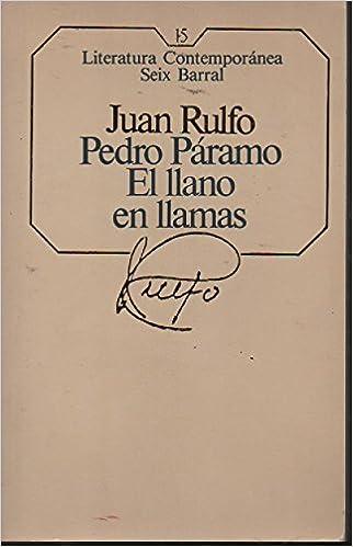 Pédro Páramo. El llano en llamas. Tapa blanda by RULFO, Juan ...