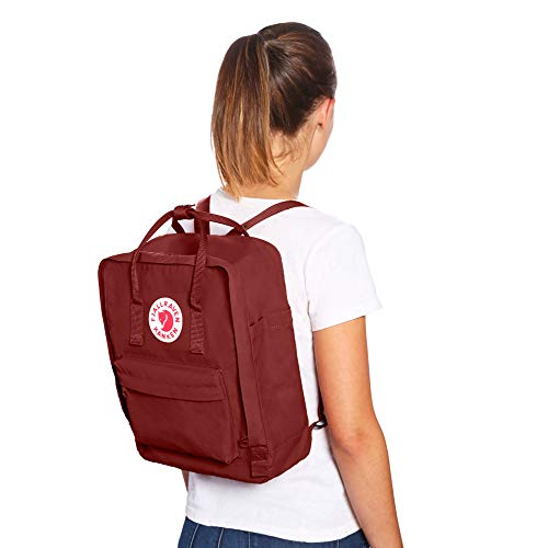 Fjallraven Men's Kanken Backpack, Royal Blue/Pinstripe, One Size by Fjallraven (Image #6)