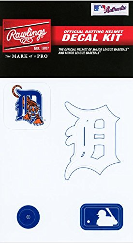Detroit Tigers Decals (Rawlings Sporting Goods MLBDC Decal Kit, Detroit Tigers)
