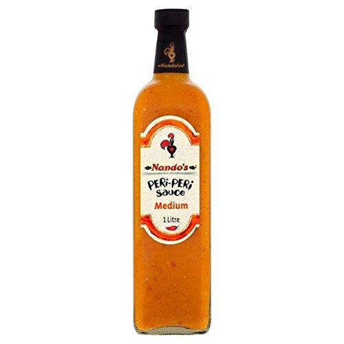 Nando's Medium Peri-Peri Sauce - 1L (33.81fl oz) (Nando Sauce)
