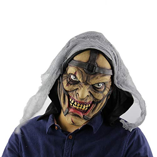 JIANYI Halloween Horror Pimp Monster Ball Party Dress Up Props Ladle Ghost Mask (Molded)