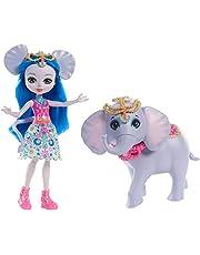 Enchantimals - Mattel Fky73 Bebekler Ve Hayvan Arkadaşları Oyun Setleri Fil