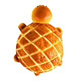 Kariwell Squishy Toys - Mini Cute Tortoise Squishy Squishies Slow Rising - Cream Squeeze Scented Reliever Stress Toy Adorable Toys (Yellow❤️)