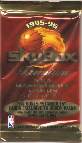 1995-96 Skybox Premium Series 1 Basketball Pack from Skybox