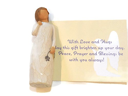 Willow Tree Remember Angel Figurine An Ideal Sympathy-Condolence Gifts For Loss Of Mother/Father/Loved One