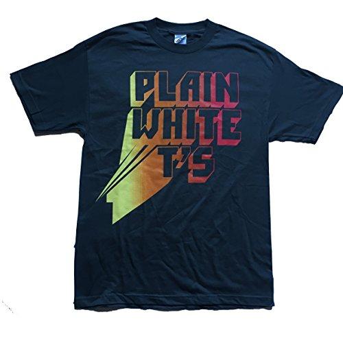 Plain White Ts Classic Band Logo T-Shirt Large