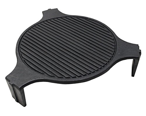 (Broilmann Cast Iron Plate Setter - Fits LARGE Big Green Egg)