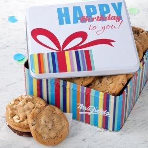 Mrs. Fields Many Returns Large Birthday (Mrs Cookie Gift Tin)