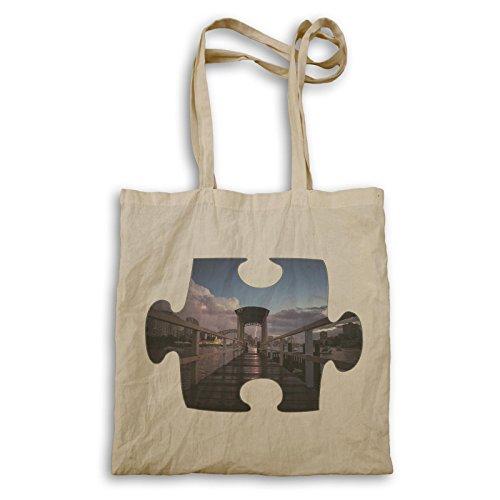 Puzzle-Donner-erster Punkt-Perspektive Tragetasche e838r