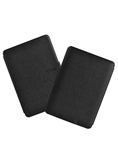 Kindle E-Reader Funda GOGODOG Ultra Delgado Cuero Parachoque Cuerpo Completo Proteccion Billetera Negocio Estilo con Función de Soporte y Auto Dormir Despierta (Negro) Rojo
