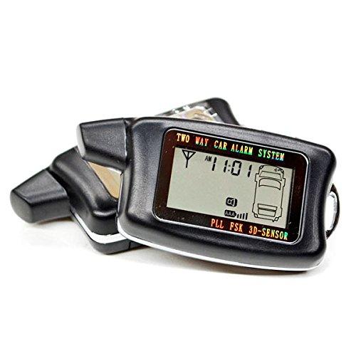 KapscoMoto 2 Way LCD Car Alarm Keyless Entry Remote Starter For Ford Super Duty F-100 Ranger F-150 Heritage F-250