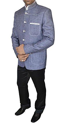 INMONARCH Mens Trendy Designer Jodhpuri Suit JO268 40R Sameasshown