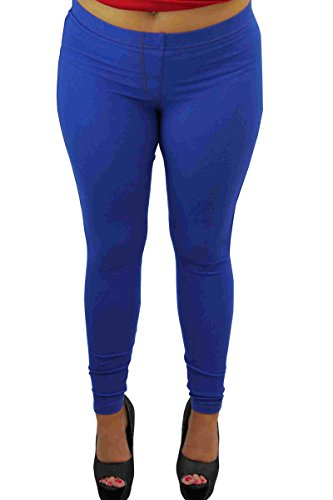 f Uni 100 Femme s Marine DEN Jeans Bleu avwqtxd