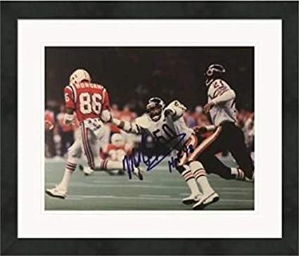 7a12e6842 Image Unavailable. Image not available for. Color  Mike Singletary  Autographed Photo - 8x10)  1 Matted   Framed - Autographed NFL Photos