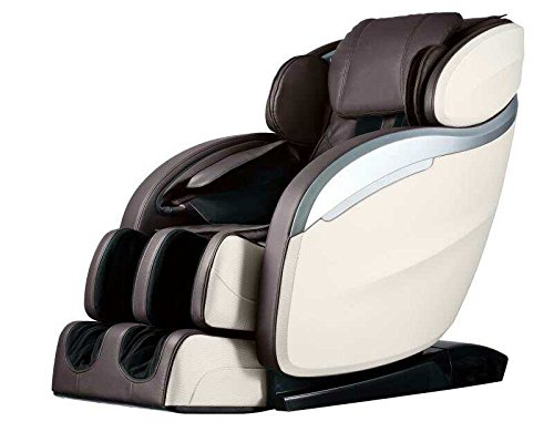 BestMassage Electric Full Body Shiatsu Massage Chair Recliner Zero Gravity Chiar with Heat L Track Foot Rollers Massage Bluetooth Audio...