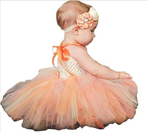 (Chunks of Charm The Orange Sherbert Tutu Dress from (12 Months))