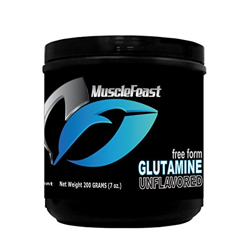 Muscle Feast Pure L-Glutamine Powder 200 grams by Muscle Feast