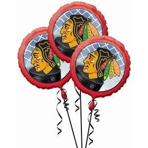 Amazon Balloon 3 Pack Chicago Blackhawks Toys Games