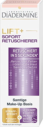 Diadermine Lift+ Sofort-Retuschierer Samtige Make-Up Basis, 1er Pack (1 x 30 ml)