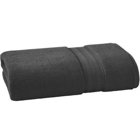 BHG THICK AND PLUSH SOLID BATH SHEET | SUPER SOFT COTTON (Bath Sheet, GREY)