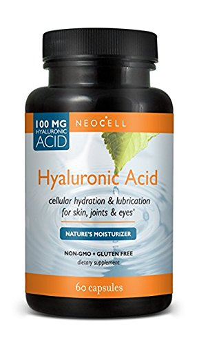 Neocell Hyaluronic Acid, 100 Mg, 4Pack (60 Count Each)