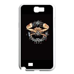 Samsung Galaxy N2 7100 Cell Phone Case White_Cancer by Alchemy Jolio