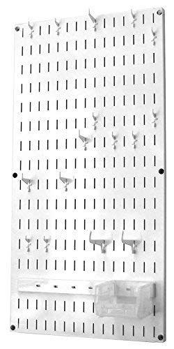 - Wall Control Jewelry Organizer Wall Hanging Jewelry Holder Kit Wall Mounted Jewelry Organizer Kit in White