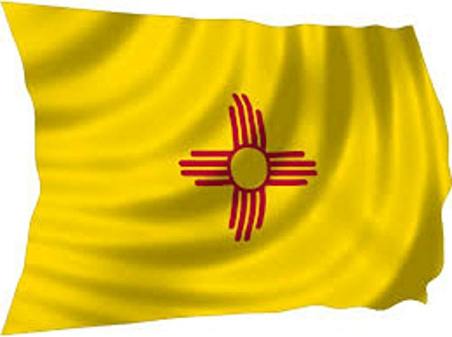 Set of State of New Mexico & USA 3'x5' Polyester Flags