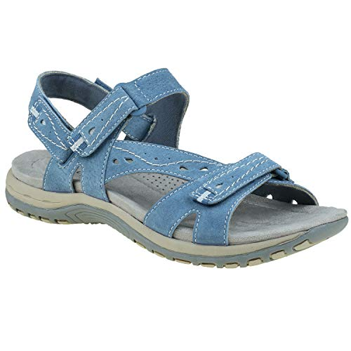Earth Origins Women's Moroccan Blue Sophie 7 Medium US