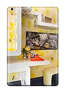 Hot Teens Bedroom With Yellow 038 Geometric Shelves First Grade Tpu Phone Case For Ipad Mini/mini 2 Case Cover