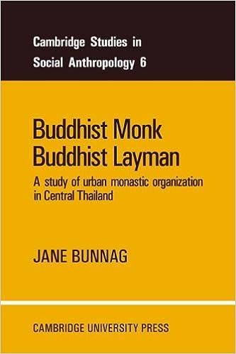 Bunnag Monk Layman cover art