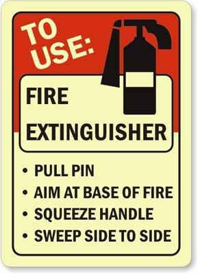 Amazon.com: Usar: extintor Pin de lente en la base de fuego ...