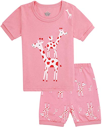 Tkala Fashion Girls Pajamas Children Clothes Set 100% Cotton Little Kids Pjs Sleepwear (7, 13-Pajamas) -