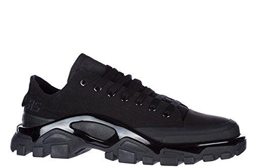 Adidas by RAF Simons Scarpe Sneakers Uomo Nuove Originale Nero