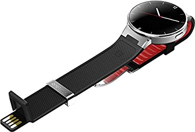 Alcatel One Touch Smart Watch, 41.8 mm, Black