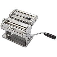 Máquina para hacer pasta (177) Por Cucina Pro - Construcción de acero para trabajo pesado - con aditamentos y recetas de fettucina y espagueti