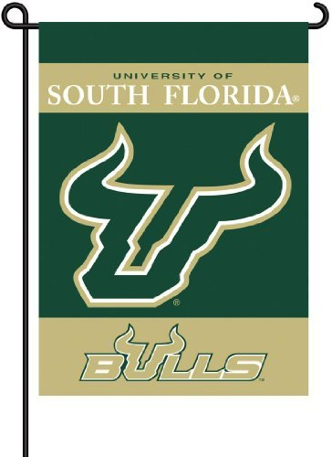 - NCAA South Florida Bulls 2-Sided Garden Flag