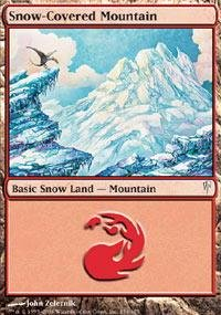 Magic: the Gathering - Snow-Covered Mountain - Coldsnap